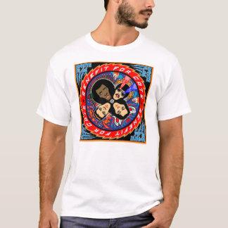Camisa de T dos gatos da BANDEIRA BRANCA