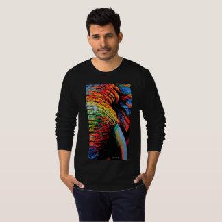 Camisa de T, impressão animal