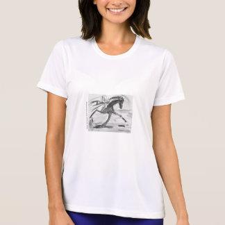 Camisa de T para amantes do cavalo