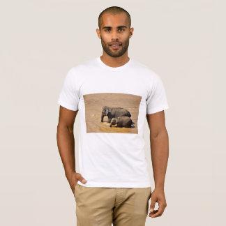 Camisa de T para amantes do elefante