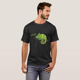 Camisa de T para o camaleão da vírgula dos homens