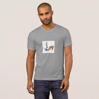 Camisa de T para Vaulters equestres (homens)