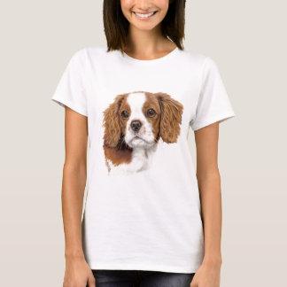 Camisa de T: Spaniel de rei descuidado Charles de