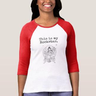 Camisa de Tara Rockstar Girlie