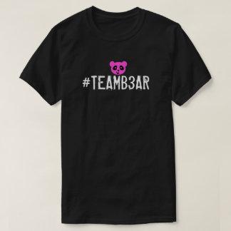 Camisa de #Teamb3ar - B3ar cor-de-rosa