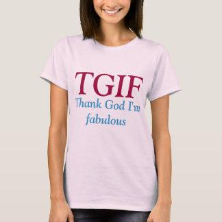 Camisa de TGIF t