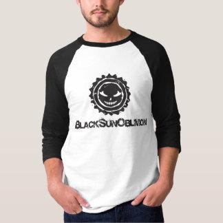 Camisa de um quarto do esquecimento 3 pretos de