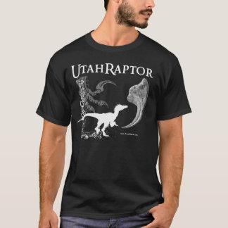Camisa de Utahraptor em cores escuras