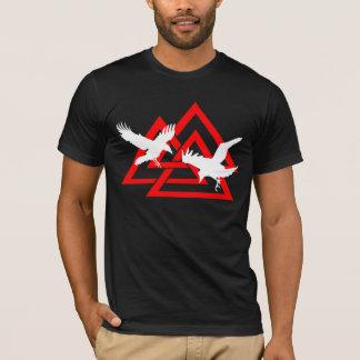 Camisa de Valknut dos corvos