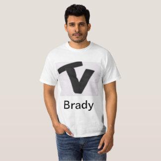 Camisa de Vlog da equipe de Brady
