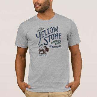 Camisa de Wyoming do bisonte do parque nacional de