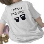 Camisa de XFit do bebê T-shirt