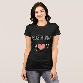 camisa dealimentação da mamã