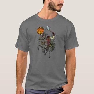 Camisa decapitado do Dia das Bruxas T do homem do