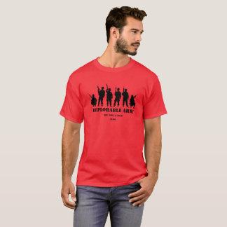 Camisa deplorável do exército do trunfo