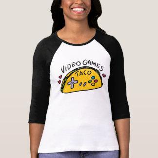 Camisa deVista do logotipo do Taco de Ladystyle T-shirts