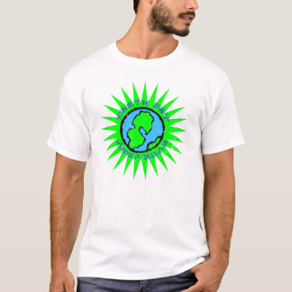 Camisa diária do Dia da Terra t