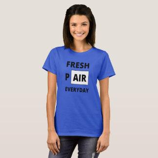 Camisa diária dos pares frescos