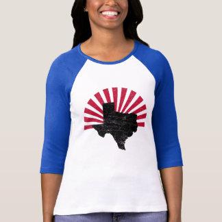 Camisa do alargamento de Texas do vintage
