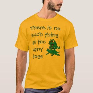 Camisa do amante do sapo