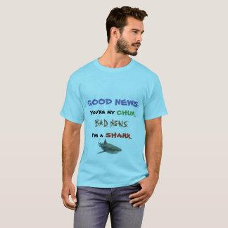 Camisa do amigo do tubarão