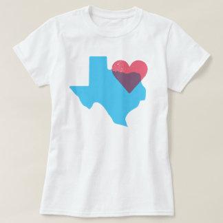 Camisa do amor do estado de origem de Texas