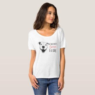 Camisa do amor do pitbull