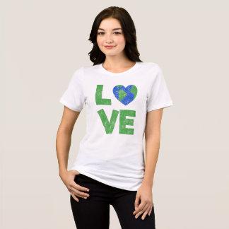 Camisa do amor do vintage do dia/Dia da Terra do