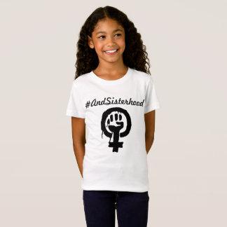 camisa do #AndSisterhood para as raparigas