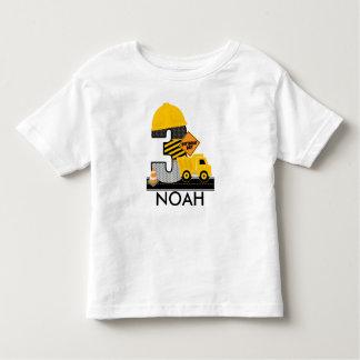 Camisa do aniversário da construção, idade 3 do