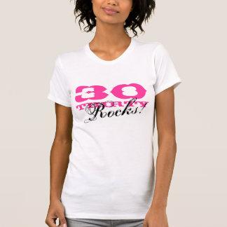 Camisa | do aniversário de 30 anos trinta rochas!