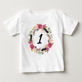 Camisa do aniversário de Boho da camisa do