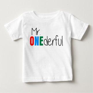 Camisa do aniversário de criança T do Sr.