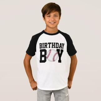 Camisa do aniversário do basebol, camisa do