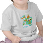 Camisa do aniversário do menino customizável da co camiseta