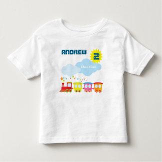 Camisa do aniversário do trem de Choo Choo