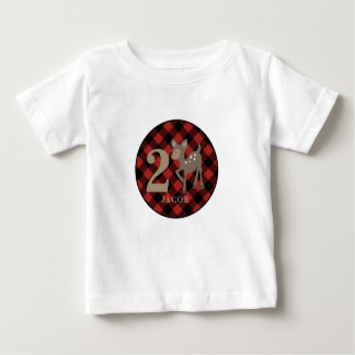 Camisa do aniversário dos cervos da xadrez do