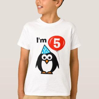 Camisa do aniversário dos miúdos 5a com desenhos