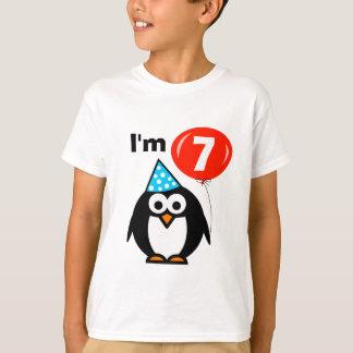 Camisa do aniversário dos miúdos 7a com desenhos