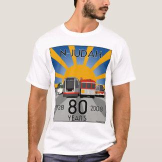 Camisa do aniversário T do 80 de N Judah!