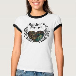 Camisa do anjo do soldado