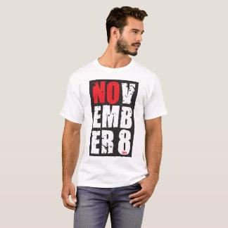 Camisa do anti-Trunfo de NOVEMBRO EMB ER 8
