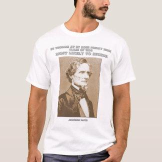 Camisa do anuário de Jefferson Davis