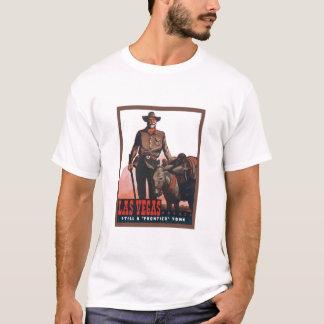 Camisa do anúncio de Las Vegas do vintage