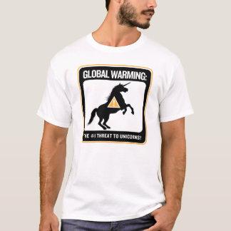 Camisa do aquecimento global
