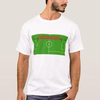 Camisa do árbitro do futebol