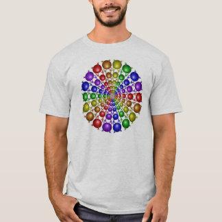Camisa do arco-íris de Newton