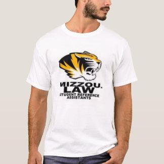 Camisa do assistente da referência da lei da MU