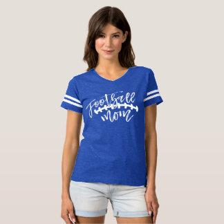 Camisa do azul do estilo do jérsei da mamã do