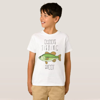 Camisa do baixo do amigo da pesca do pai